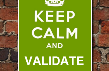 Validation. What for? Where? How? (HTML5 example)